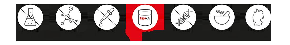 hypo-A Reinheit ist unser Erfolgskonzept - seit 1998